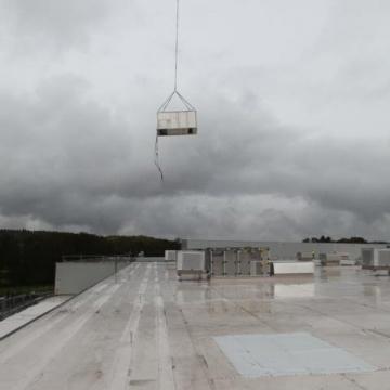 Montage von Klimageräten