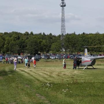 Hubschrauber-Incentive im Harz