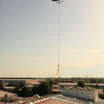 Klimageräte-Transport