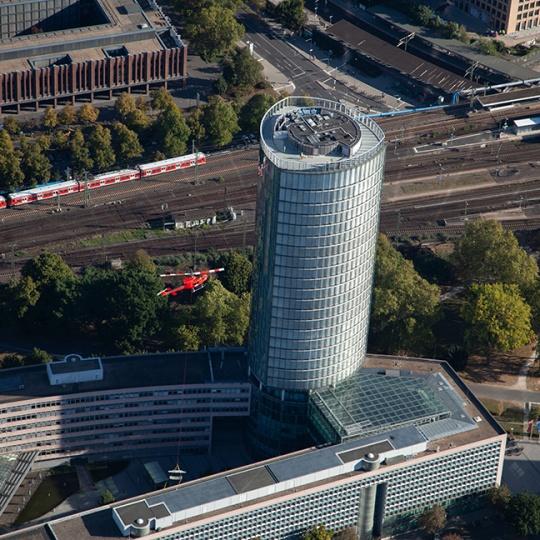 Lastenflug Köln Triangle 2019