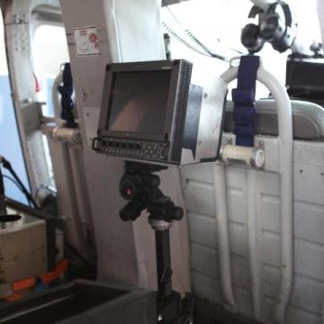 Offshore Flug mit CinOffshore Flug mit Cineflex Kamerasystemeflex Kamerasystem