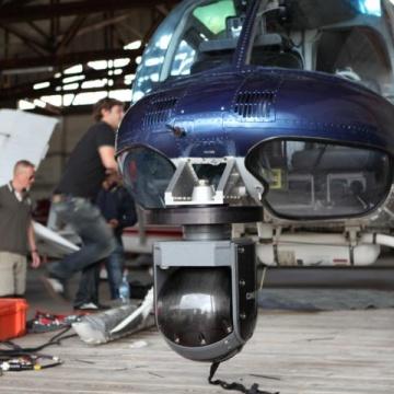 Offshore Flug mit Cineflex Kamerasystem