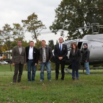 Rundflugevent bei Nürnberg
