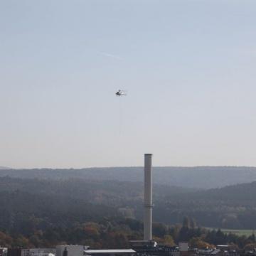 Schwerlasthelikopter in Bayern