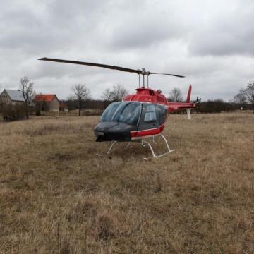Brautentführung per Hubschrauber
