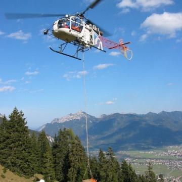 helikopter lastenflug