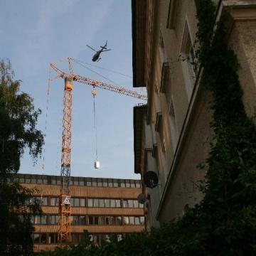 helikopter statt kran
