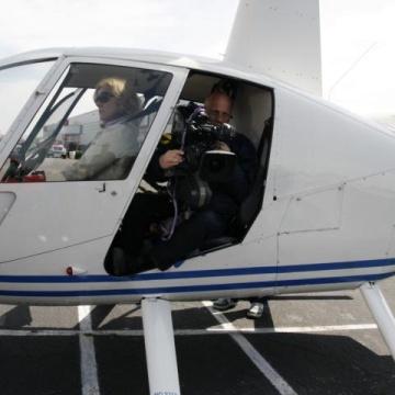 Film-Flug über San Francisco, USA