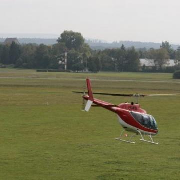 Hubschrauber-Rundflugevent in Bamberg