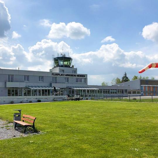 Lastenflug Funkmast Arnsberg 2021