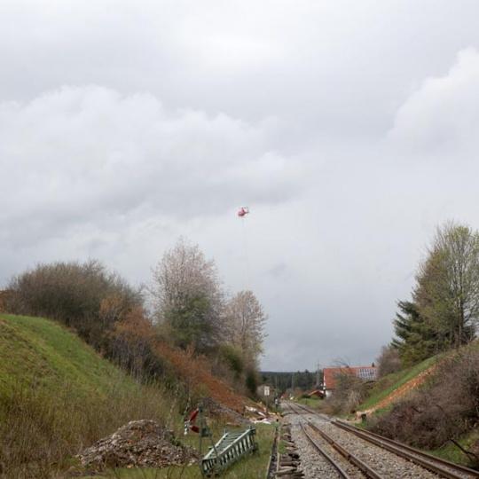 Lastenflug Deutsche Bahn 2019