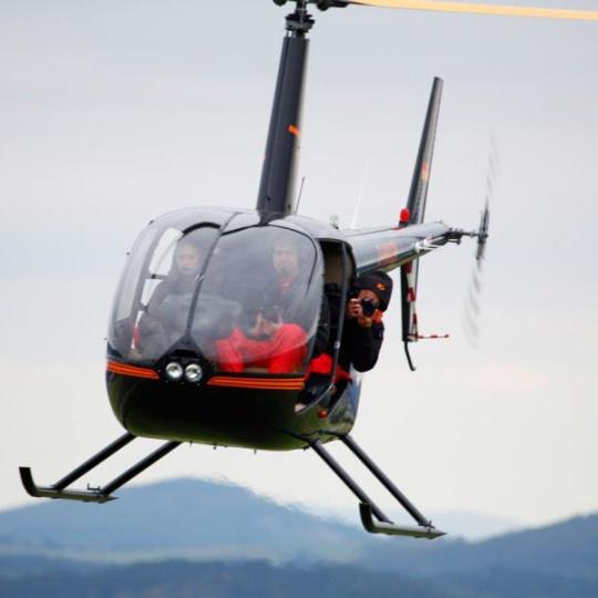 fotografie aus helikopter
