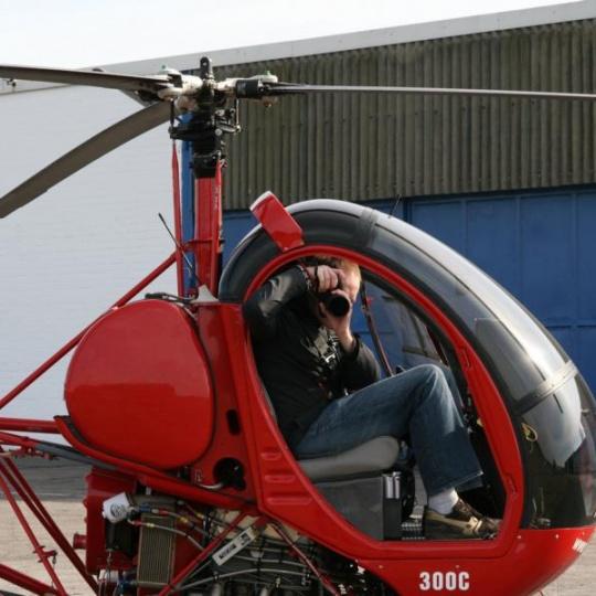 helicopter foto flug