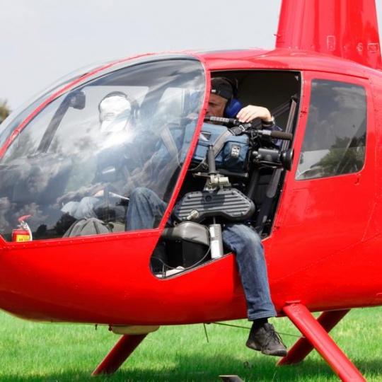 hubschrauber start mini gyro