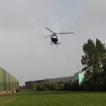 Montageflug im Ruhrgebiet