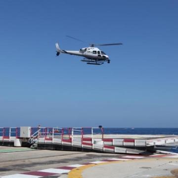 Cineflex Aufnahmen in Monaco