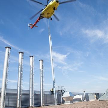 Lastenflug Hermes Ohrdruf Mi-8