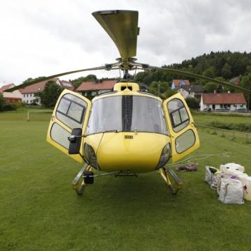 Montageflug in Bayern