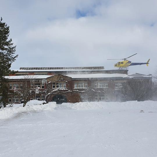 Schneeflug Lutherstadt 2021