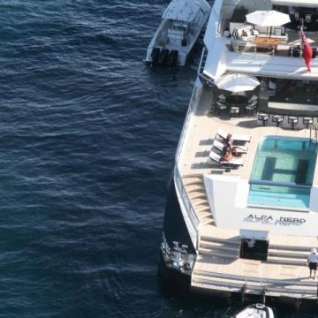 Luftaufnahmen mit Cineflex über Capri
