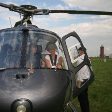 helikopter rundflugevent