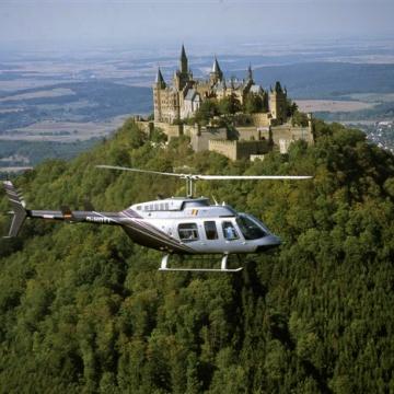 helikopter staedterundflug