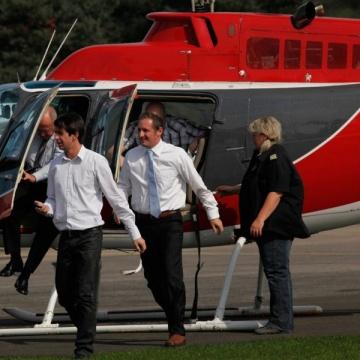 helikopter ueberraschung
