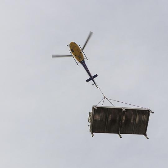 Lastenflug Amazon Rheinberg 2019
